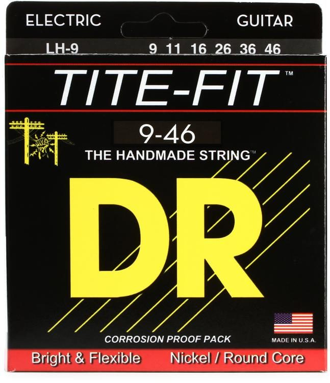 DR Strings Stg Electric Tite Fit 9-46 - LH9