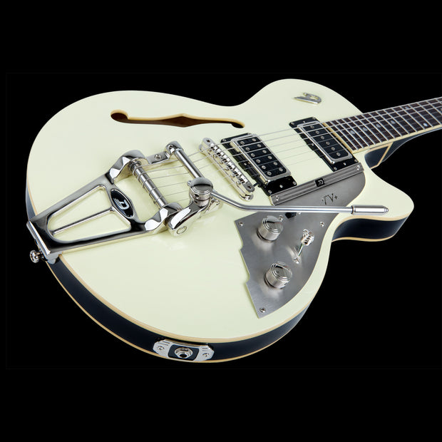 Duesenberg Starplayer TV+ - Vintage White - Tarpley Music Company, Inc.