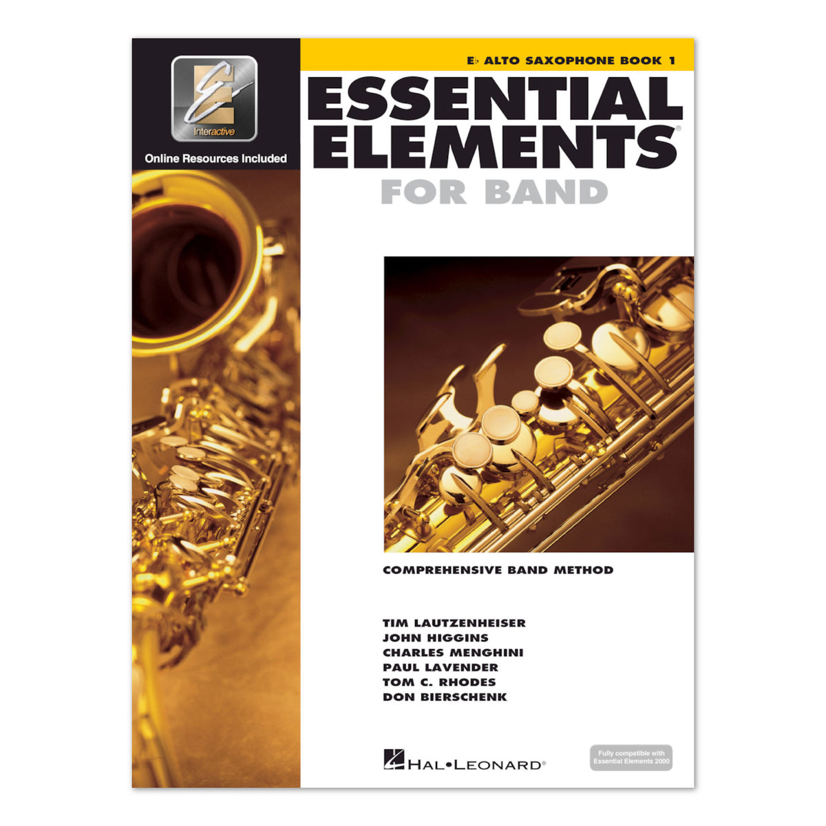 Hal Leonard Essential Elements for Band - Eb Alto Saxophone - Book 1
