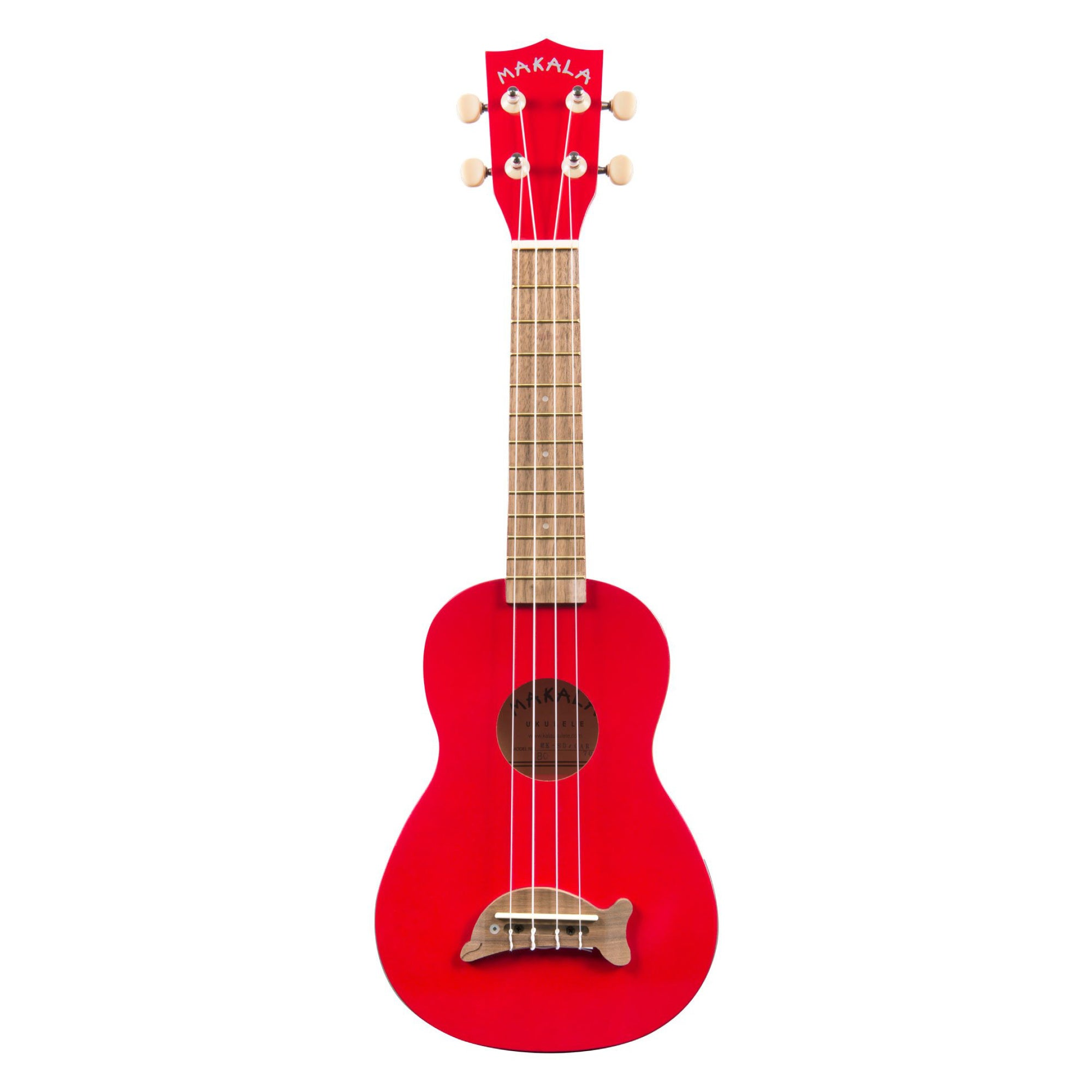 Kala MK-SD/CAR Candy Apple Red Soprano Dolphin Ukulele