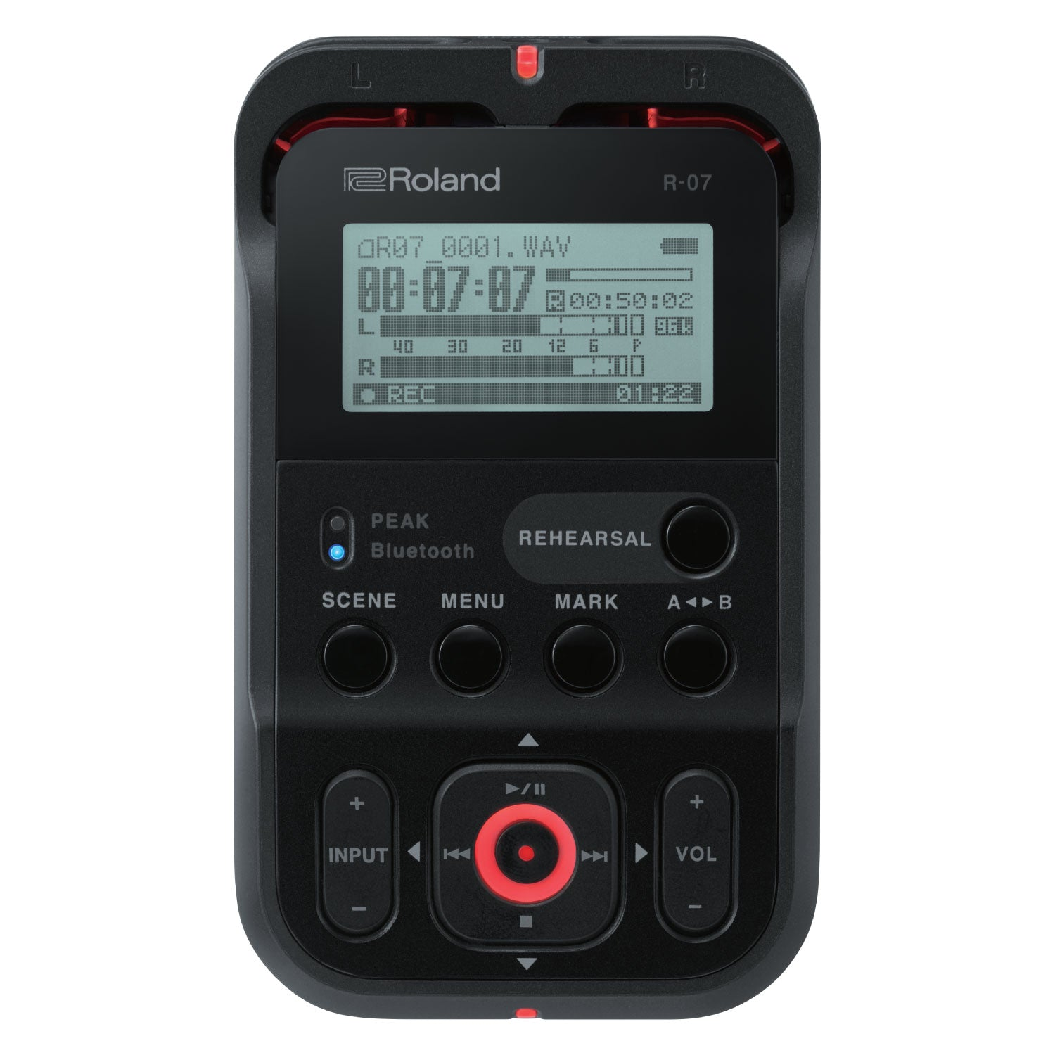 Roland R-07 High-Res Handheld Recorder
