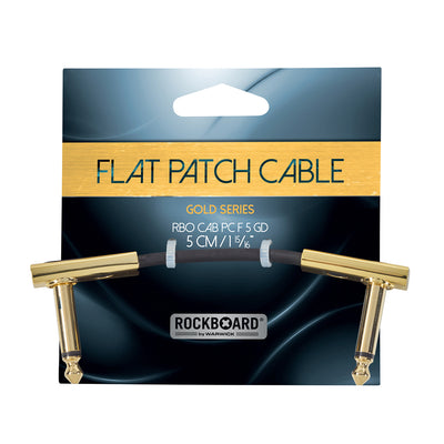RockBoard Gold Series Flat Patch Cable - 5cm