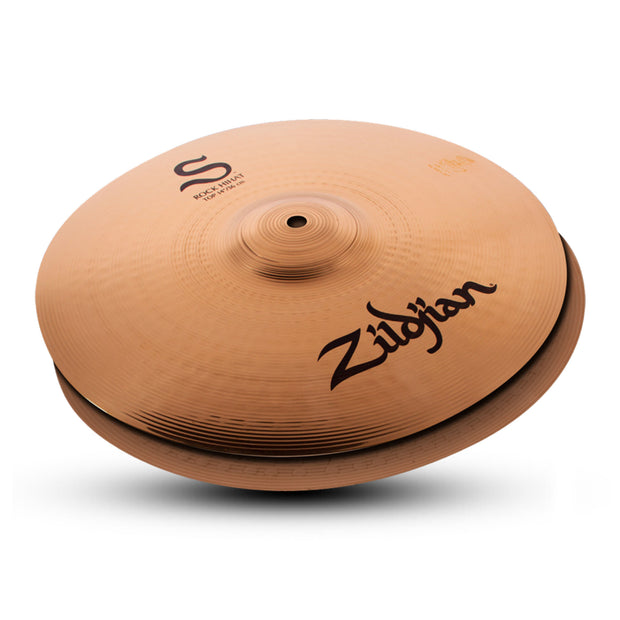 "Zildjian 14"" S Rock Hi Hat Pair - Tarpley Music Company, Inc."