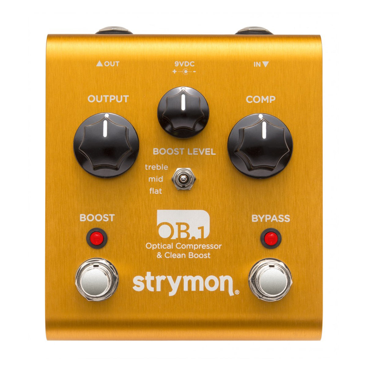 Strymon OB1 - Optical Compressor & Clean Boost Pedal