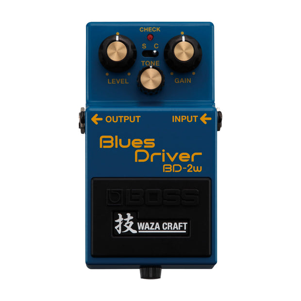 BOSS BD-2w Blues Driver - Waza Craft - Tarpley Music Company, Inc.