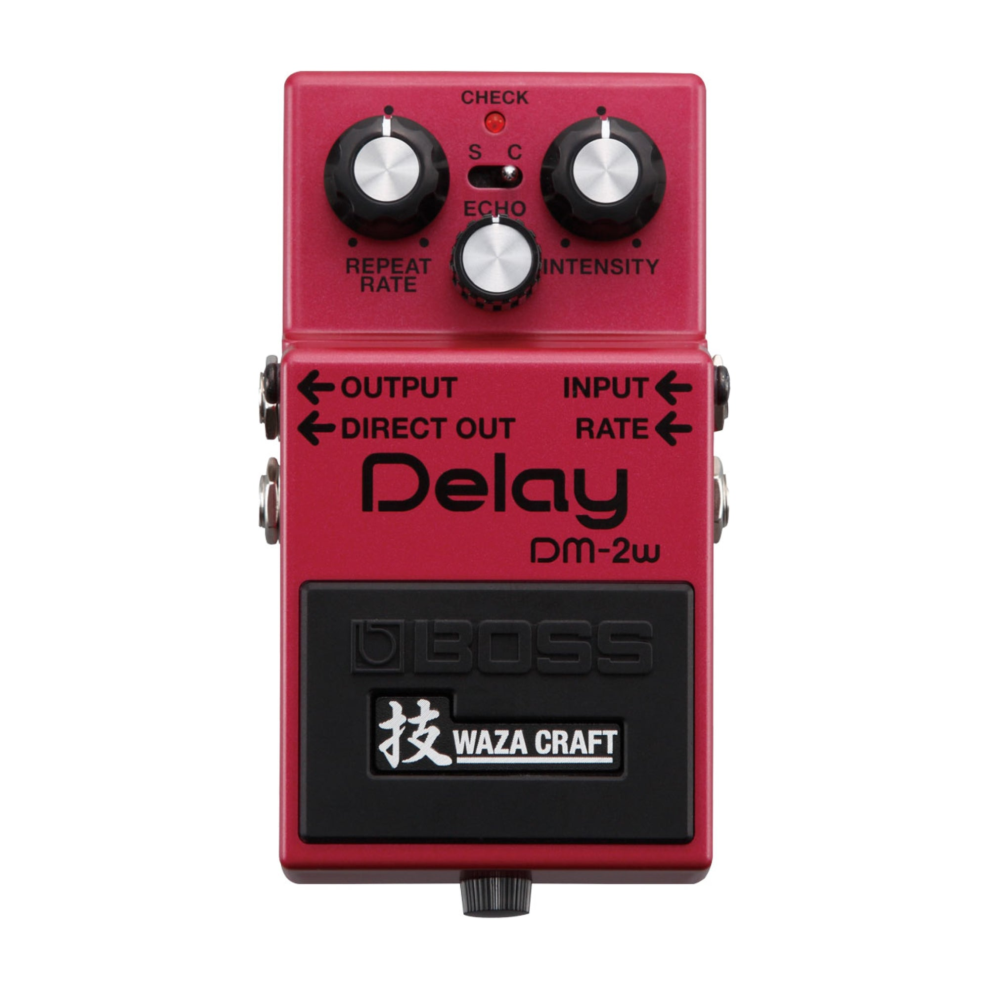BOSS DM-2w Delay - Waza Craft