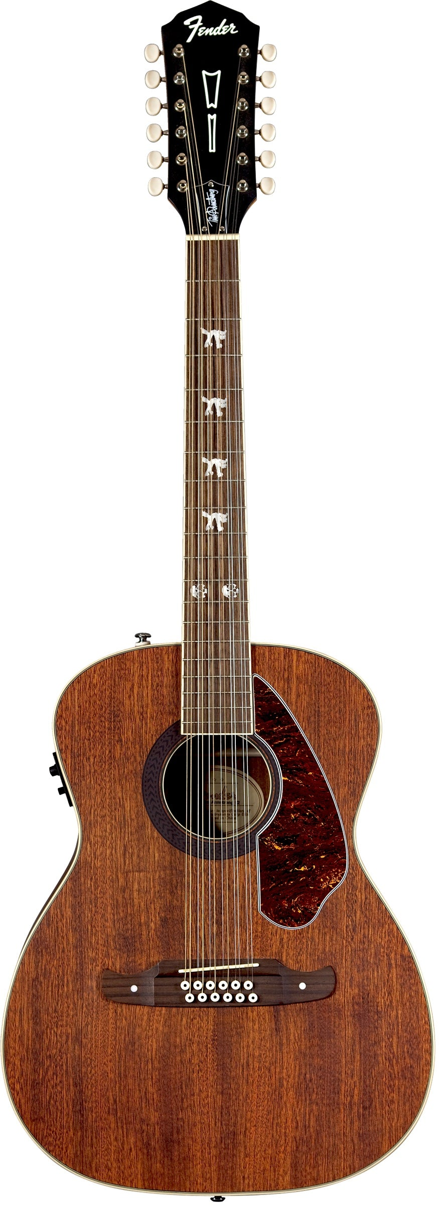 Fender Tim Armstrong Hellcat 12-String Acoustic-Electric - Natural