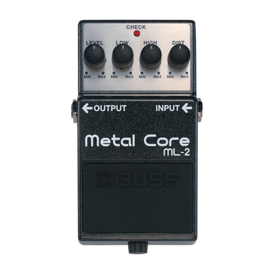 BOSS ML-2 Metal Core - Tarpley Music Company, Inc.