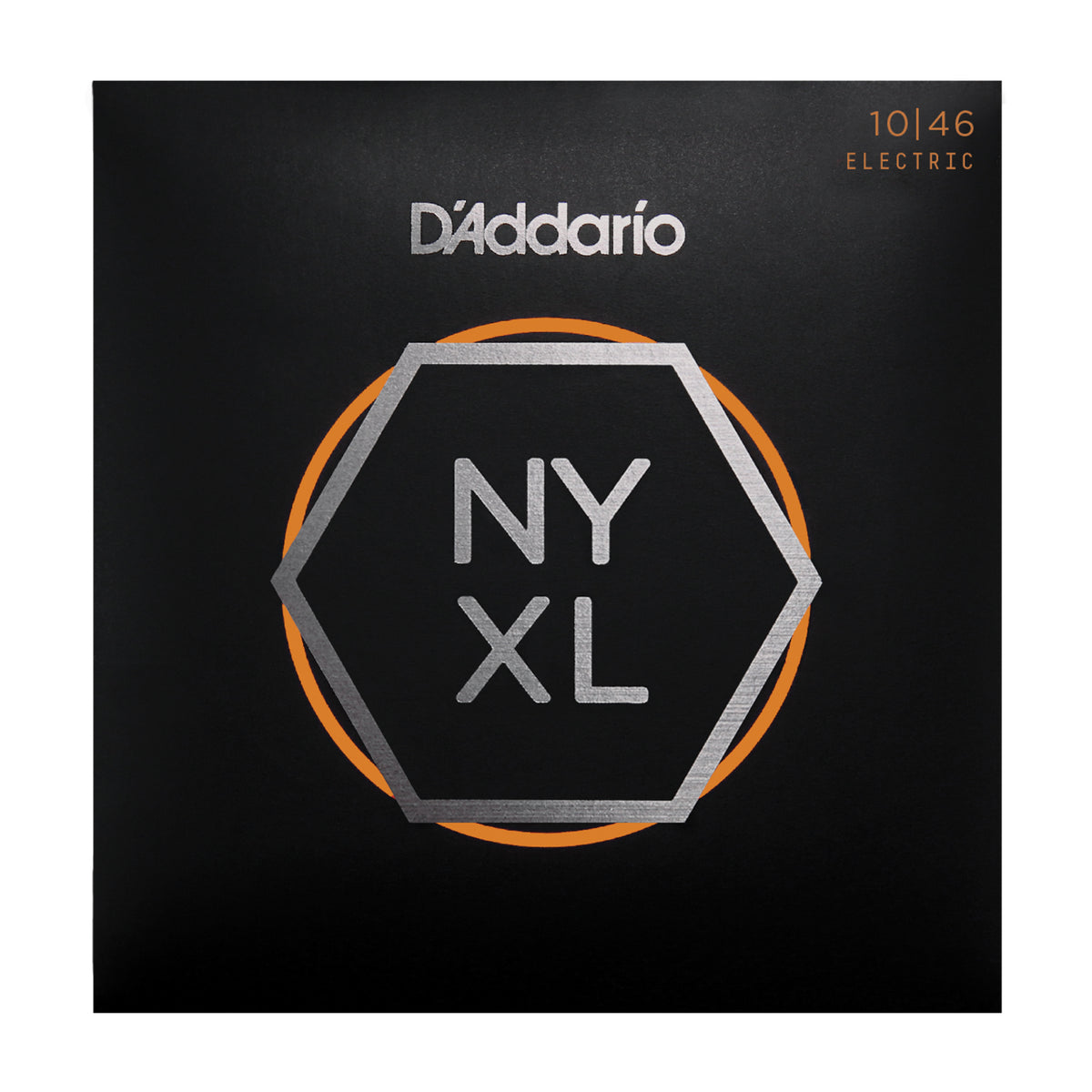 D'Addario NYXL1046 Nickel Wound, Regular Light, 10-46 - Tarpley Music Company, Inc.