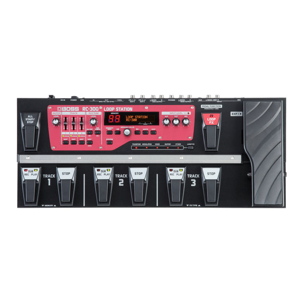 BOSS RC-300 Loop Station - Tarpley Music Company, Inc.