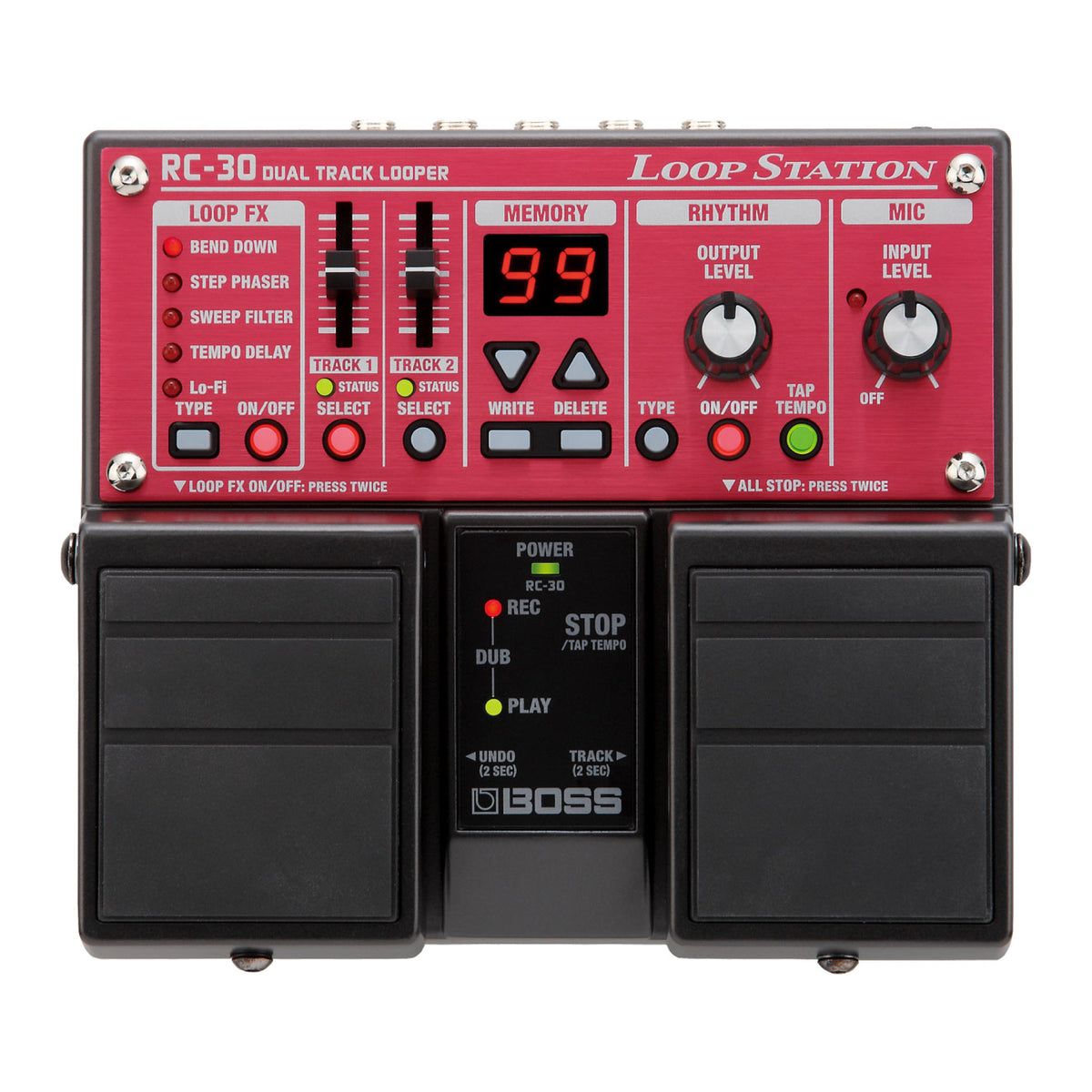 BOSS RC-30 Dual Track Looper - Tarpley Music Company, Inc.