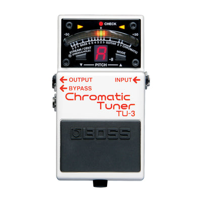 BOSS TU-3 Chromatic Tuner - Tarpley Music Company, Inc.