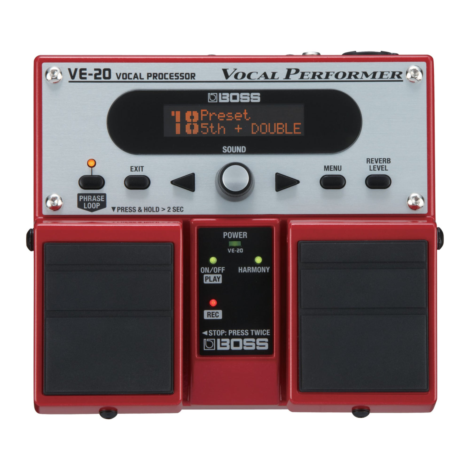 BOSS VE-20 Vocal Processor - Tarpley Music Company, Inc.