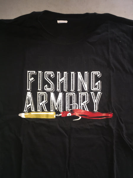The Fishing Armory - The Fishing Armory, Cold Wet Hands T-shirts - Bullet Lure