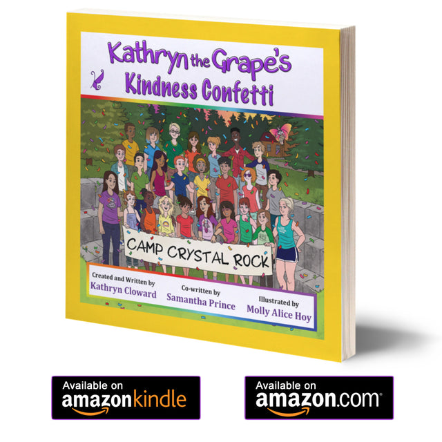 Kathryn the Grape Books by Kathryn Cloward are available on Amazon