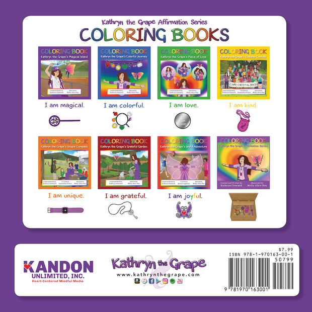 Coloring Book Kathryn the Grape's Magical Wand