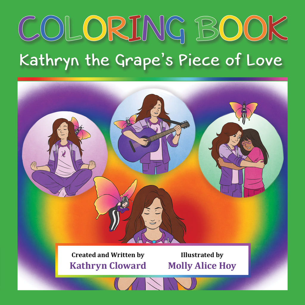 Coloring Book Kathryn the Grape's Piece of Love