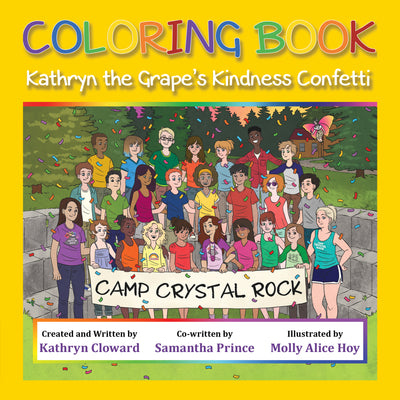 Coloring Book Kathryn the Grape's Kindness Confetti