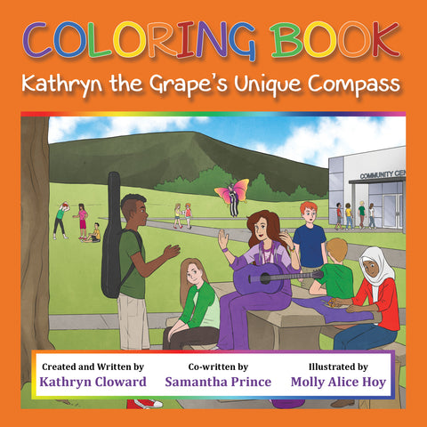 Coloring Book Kathryn the Grape's Unique Compass