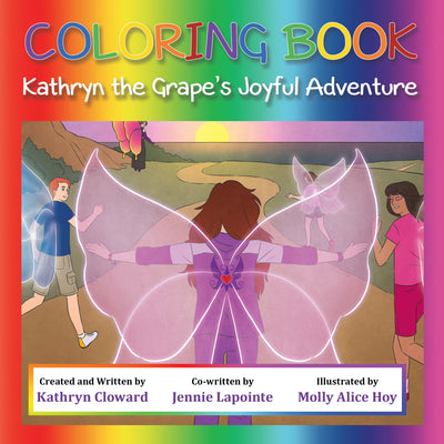 Coloring Book Kathryn the Grape's Joyful Adventure