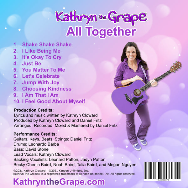 Kathryn the Grape All Together (CD)