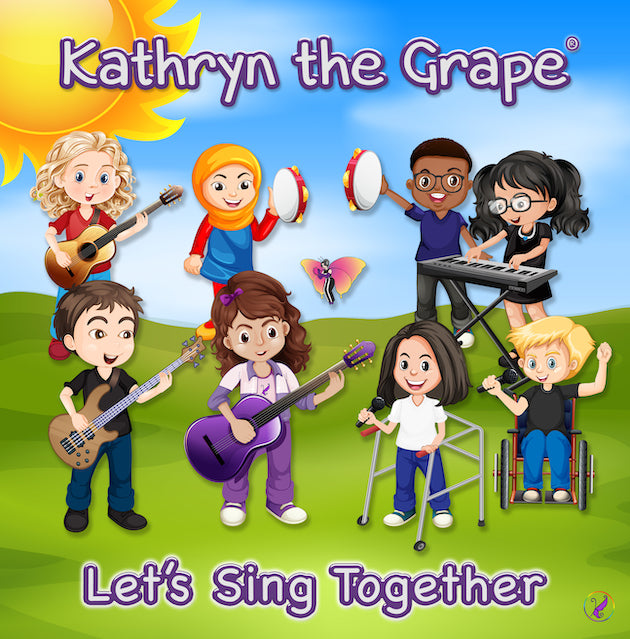 Kathryn the Grape Let's Sing Together (CD)