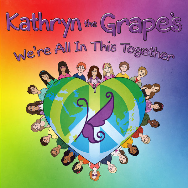 Kathryn the Grape Affirmation Series 5-Pack Set