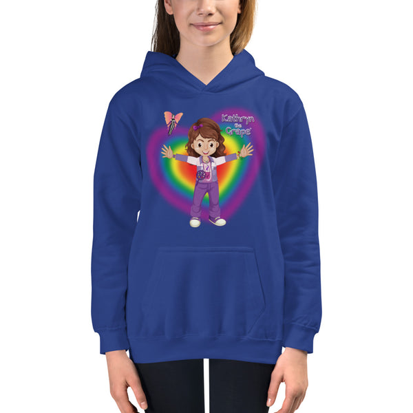 Kathryn the Grape® Ripple Love Youth Hoodie