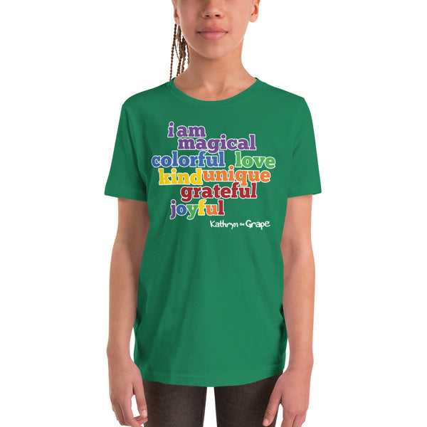 Kathryn the Grape® Affirmations T-Shirt for Kids