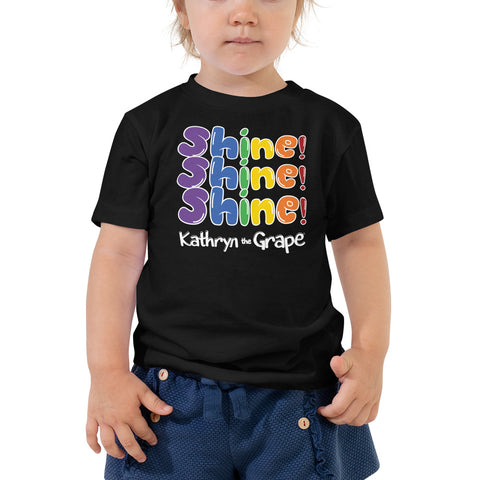 Kathryn the Grape® Shine Shine Shine Toddler Short Sleeve Tee