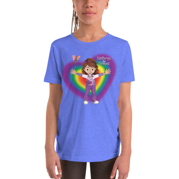 Kathryn the Grape® Ripple Love T-Shirt for Kids