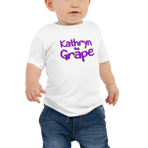 Kathryn the Grape® Baby Jersey Short Sleeve Tee