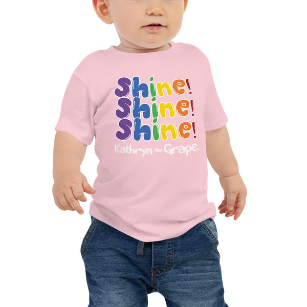 Kathryn the Grape® Shine Shine Shine Baby Jersey Short Sleeve Tee