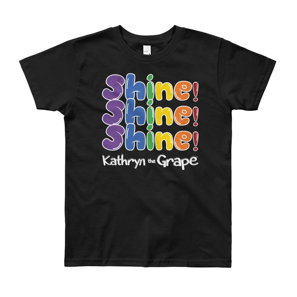 Kathryn the Grape® Shine Shine Shine Youth (8-12 years) T-Shirt