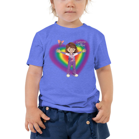 Kathryn the Grape® Ripple Love Toddler Short Sleeve Tee