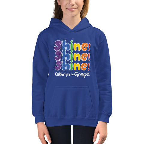 Kathryn the Grape® Shine Shine Shine Youth Hoodie