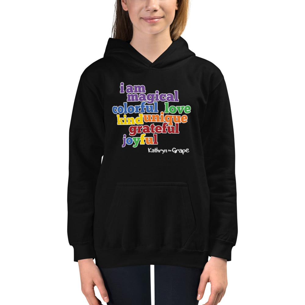 Kathryn the Grape® Affirmations Youth Hoodie