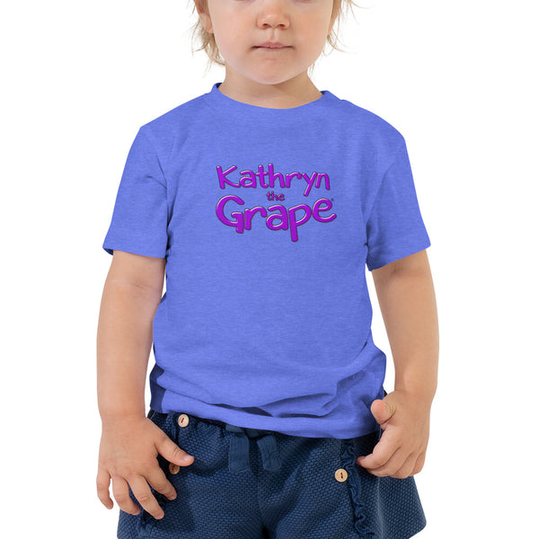 Kathryn the Grape® Toddler Short Sleeve Tee