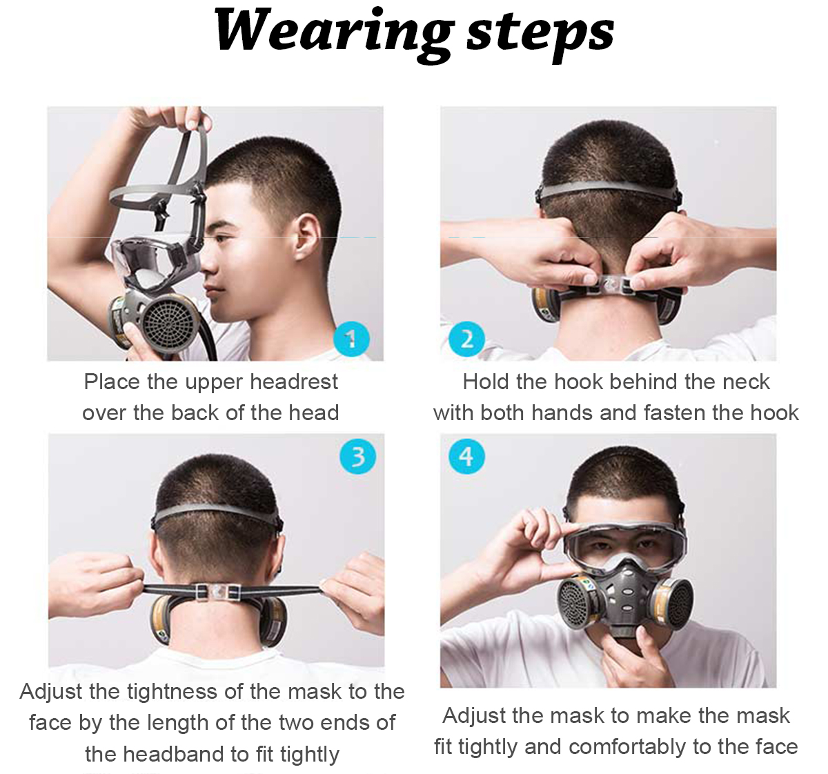 Eye Protector and Respiratory Face Mask 2-in-1 protection for your face polishing, construction, mining, factory, lab, house fitment, daily haze Respirator protect Protectors protector protective protecting protect painting mask's Mask KN95 INDUSTRIAL Goggles filter face eyewear eye mask dustproof dust proof Breathing breathe