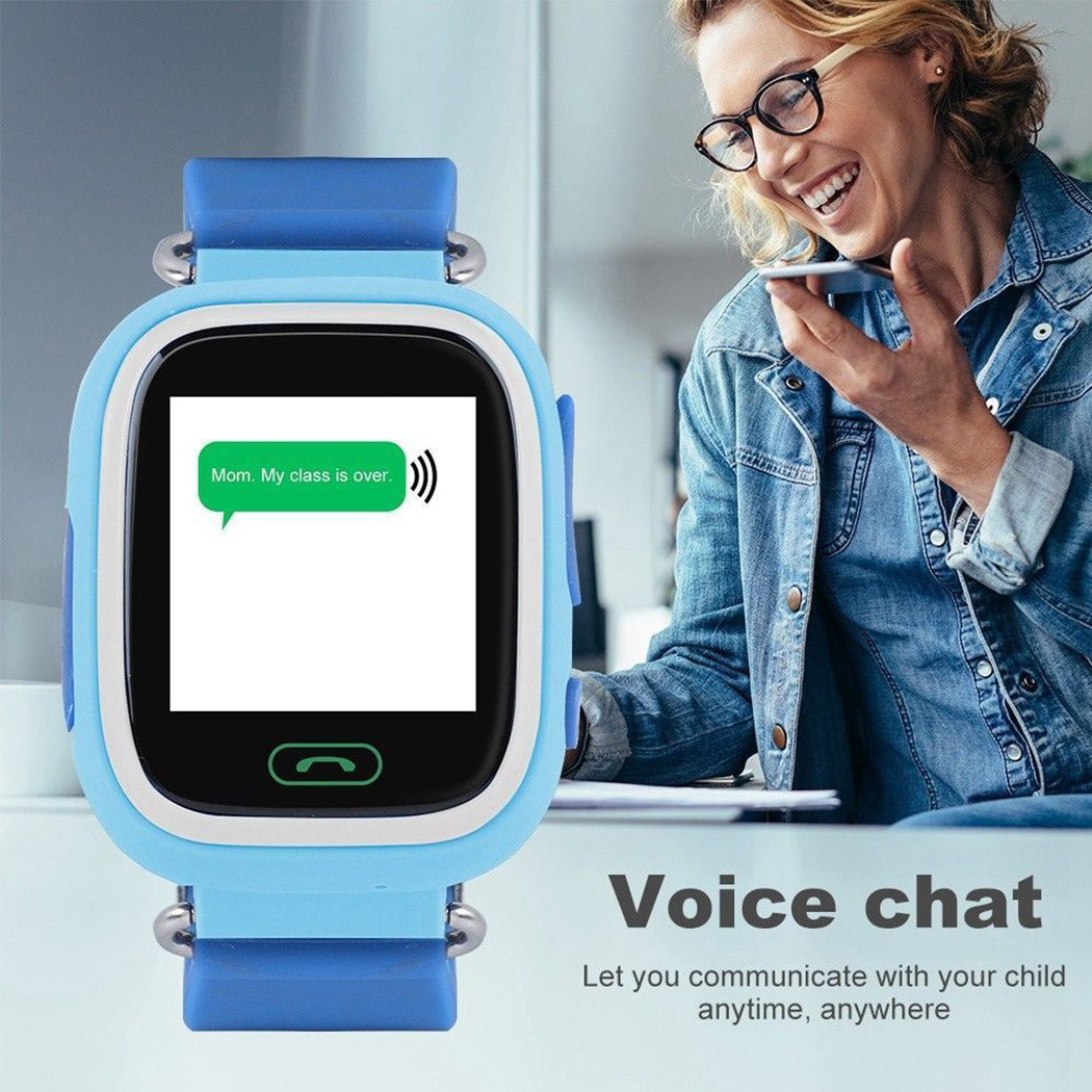 Kids' GPS Touch Screen Smartwatch Real time GPS, call listening, alarm clock, voice chat, pedometer one click SOS WiFi watches watch tracking trackers tracker track touchscreen smartwatches Smartwatch smartphones smartphone smart phone Screen schools school Safety safe phone pedometers pedometer kid's kid gps Colour childs childrens Children child