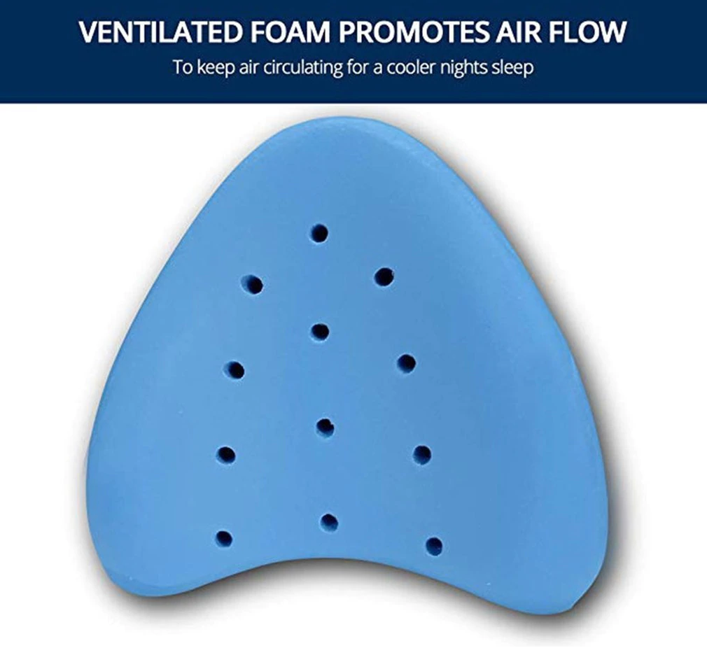 Memory Foam Protective Hip Pillow Stabilise the pelvis restore alignment of the back, hips and knees, and reduce sciatic nerve discomfort wedges wedge supports supportive support Sleepwear sleeps sleeping sciatica sciatic protects protective protection protecting Protected protect pillows PILLOWCASE memoryfoam leg's leg Knee hip for better sleep
