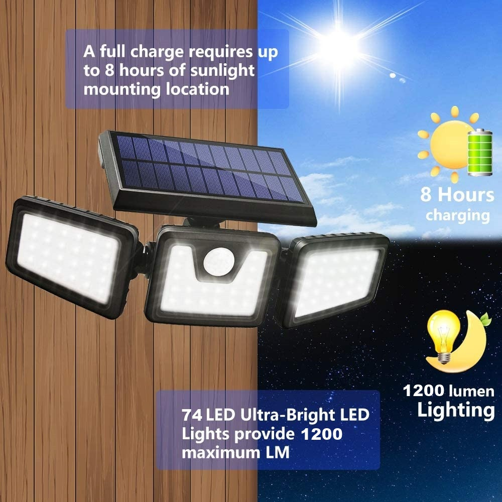 Motion Sensor 360° Solar Light Perfect for adding bright light to driveways, outbuildings, walkways and gardens walls wall-mounted wall Street spotlights solarpowered solarpower solar-powered Sensors Powered power PIR outdoors outdoor night light motion detectors motion detector lightup lights lighting Light Up leds LED lights LED lamps lamp garden