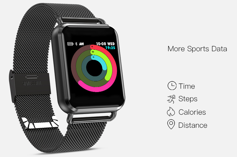 Q3 Sport Smartwatch Keep track of your health wellbeing with Q3 sport smart waterproof watches watch tracking trackers tracker track smartwatches Smartwatch smartphones smartphone smart Rate Q3 Pressure pedometers pedometer oxygen Men heart rate monitor Heart fitness tracker fitness Dynamic distance tracker blood pressure blood oxygen