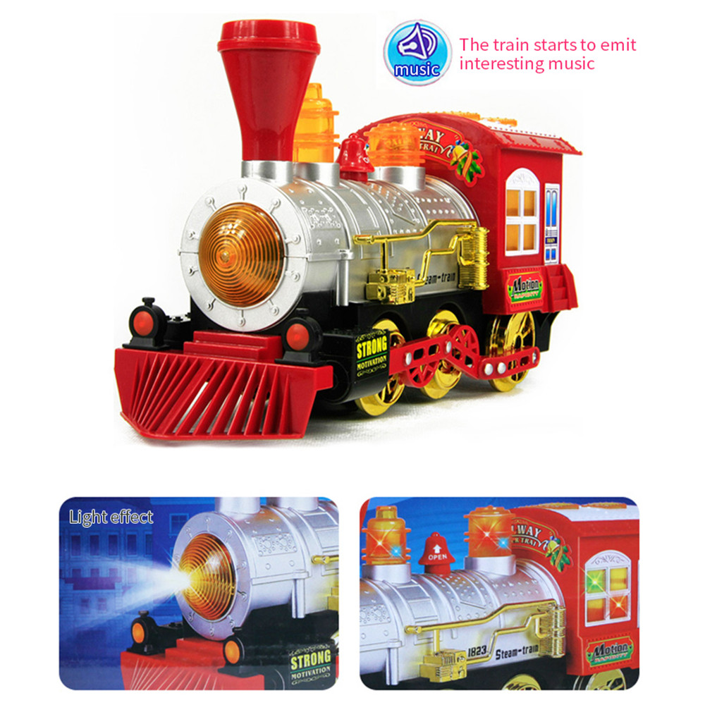 Train Bubble Machine with Music Add bubble liquid train blows nonstop bubbles bump-and-go action, plays music LED lights flash with trains Train Musical music Machines Machine Light's Light led kids girls girl gift fun childs childrens Children Childhood child bubbles bubble boys boy