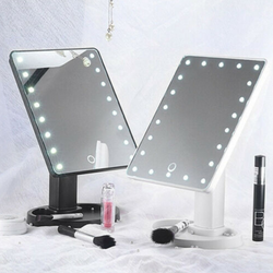 16 LED Touch Makeup Mirror Make yourself look fabulous with this magnifying built-in LEDWomen's womens women womans woman up Touch mirrors mirror makeup make-up make leds LED lights LED ladys Lady Ladies girl's girl 16