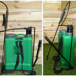 16L Backpack Pressure Sprayer Keep the patio clean and your garden green weeds Weed way waters watering water trigger straps sprays Spray Gun spray pressure washers plants pests pesticides patios patio lawn lance knapsacks knapsack Killers Killer gun green gardens gardening gardeners gardener driveways crops Crop cleaning Backpacks