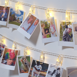 36 LED Wall Photo Peg Lights