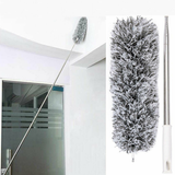 3 Metre Telescopic Microfibre Duster Give your home a deep clean perfect cleaning companion Featuring pole reach around the home Reach Mulit-functional metre meter Long Kits Kit House Home Feather duster extractor's extracting Extra Dusting Dusters Dust Deep clean Cleans Cleaning cleaners Cleaner Clean Bendable 3m 3