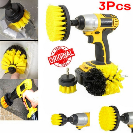 3pcs Electric Drill Brush Heads