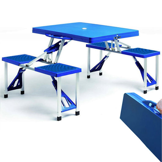 4 Person Folding Camping Table & Chairs